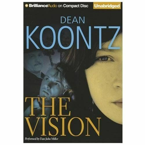 THE VISION unabridged audio book on CD by DEAN KOONTZ ...