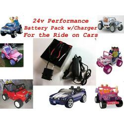 Kyпить 24V Conversion Kit UPGRADE Power Wheels (Battery/Charger) $20 CASH BACK Option на еВаy.соm
