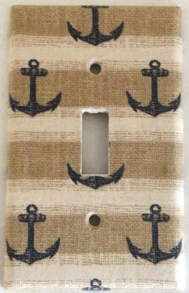 Anchor nautical marine design houseware bedroom bathroom for Anchor decoration for the home