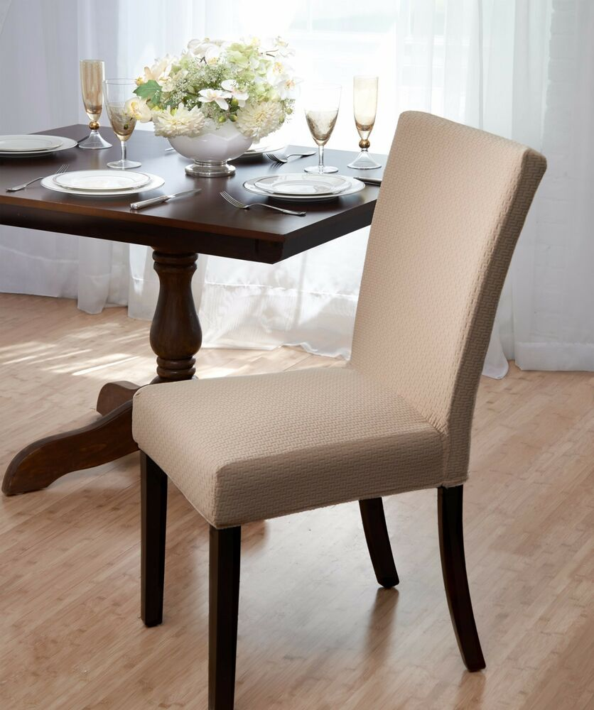 Madison Subway Dining Chair Cover, Stretch, Dining Room