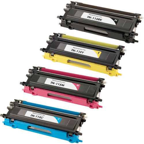 4 hy tn115 tn 115 toner for brother hl 4040cn hl4050cdn hl 4070cdw printer tn110 ebay. Black Bedroom Furniture Sets. Home Design Ideas