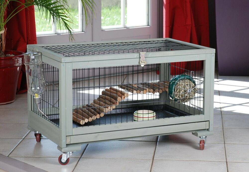 cage d 39 int rieur pour lapin furet cochon d 39 inde chinchilla. Black Bedroom Furniture Sets. Home Design Ideas