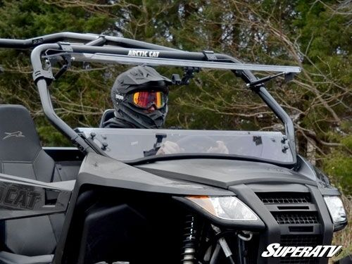 Super Atv Full Flip Tilting Front Windshield Arctic Cat