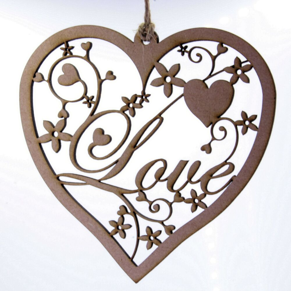 Hanging decoration fancy love heart home decoration for Heart decorations for the home