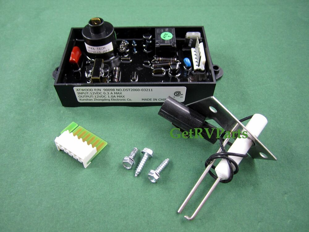 Atwood 91504 Water Heater Control Circuit Board Electrode
