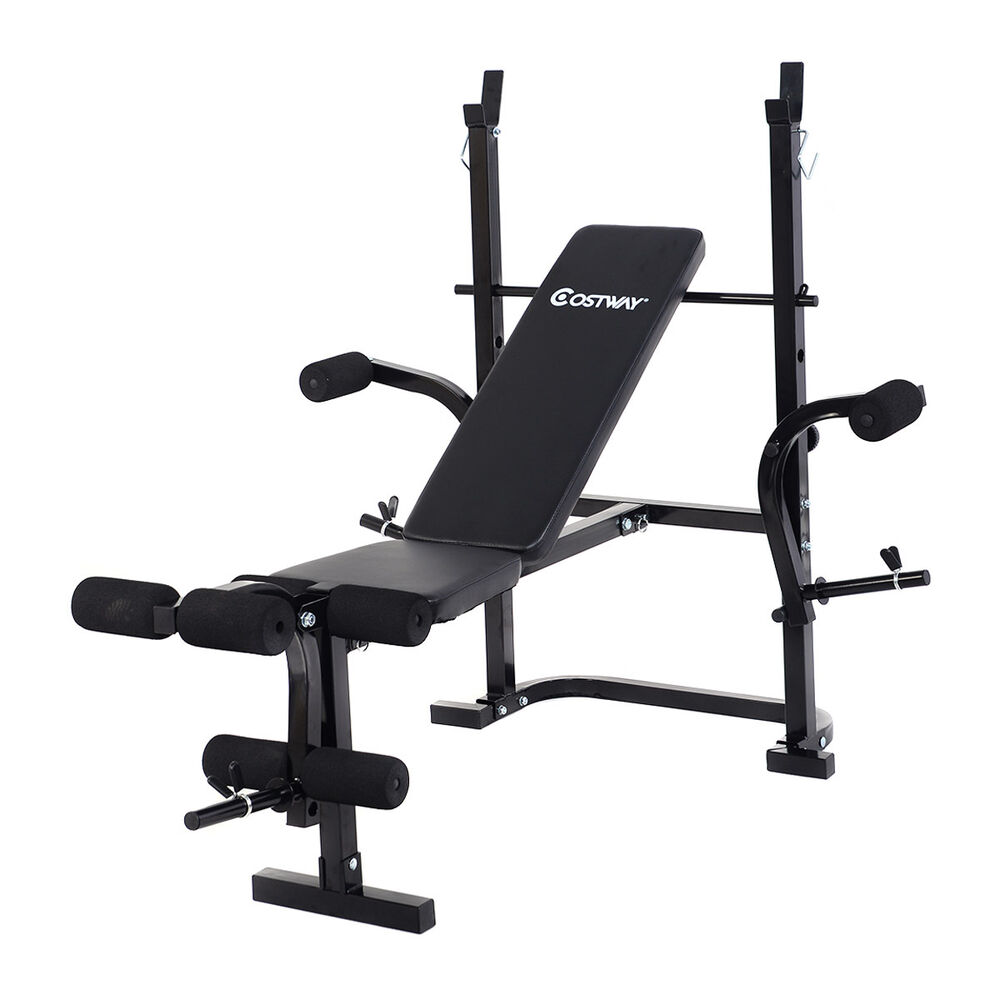 Adjustable Weight Lifting Multi Function Bench Fitness Exercise Strength Workout Ebay