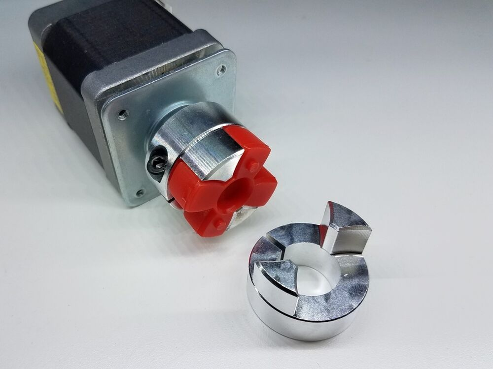 3 8 X 1 2 Flexible Jaw Spider Shaft Coupling Cnc Mill Ac