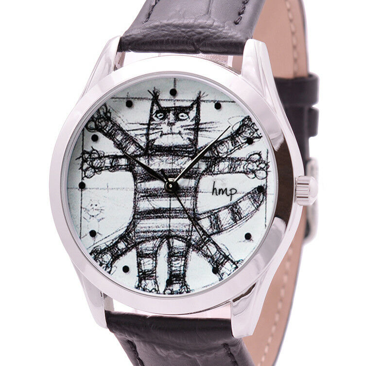 Details About Da Vinci Cat Watch Gifts For Lovers Birthday Best Friend Gift Ideas