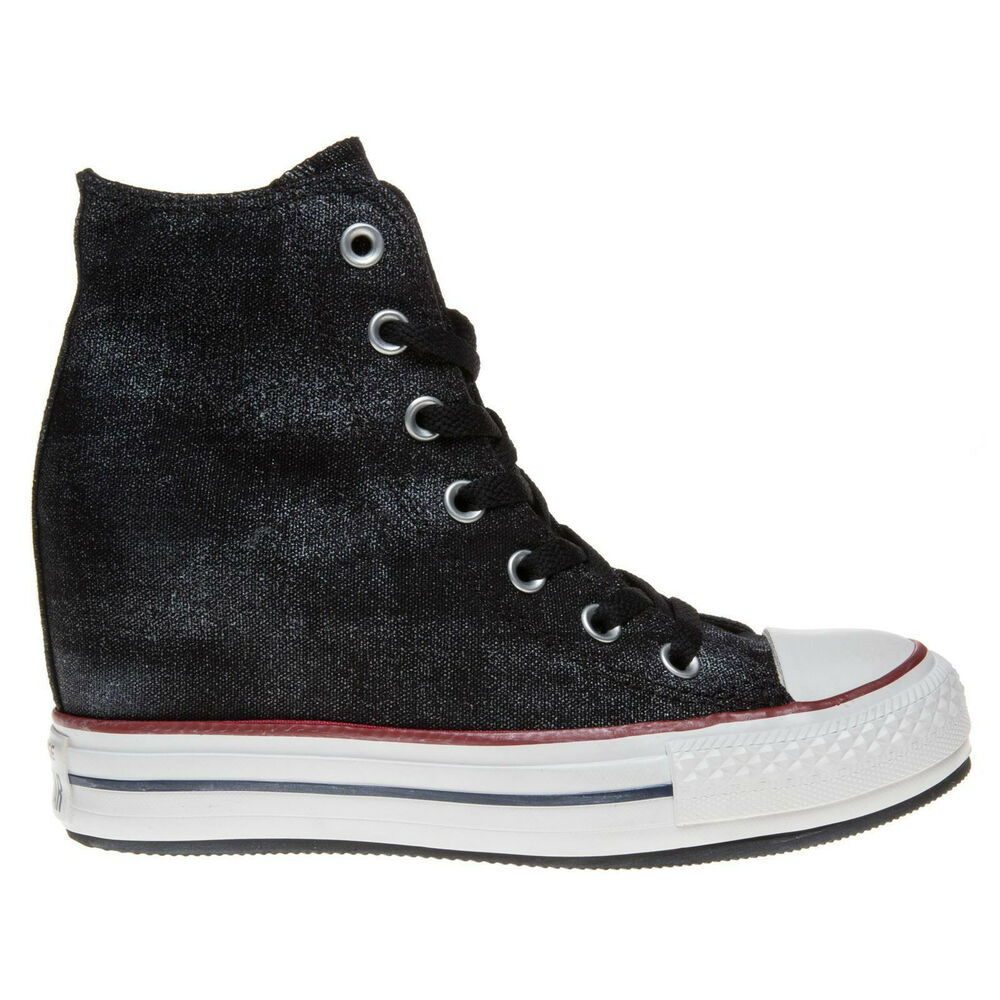 4ad0023a3 Details about Converse Chuck Taylor® All Star® CT Platform Plus Hi Black  545037C Sneakers NEW
