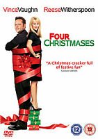 Four Christmases (DVD, 2009) (Pre-Owned)