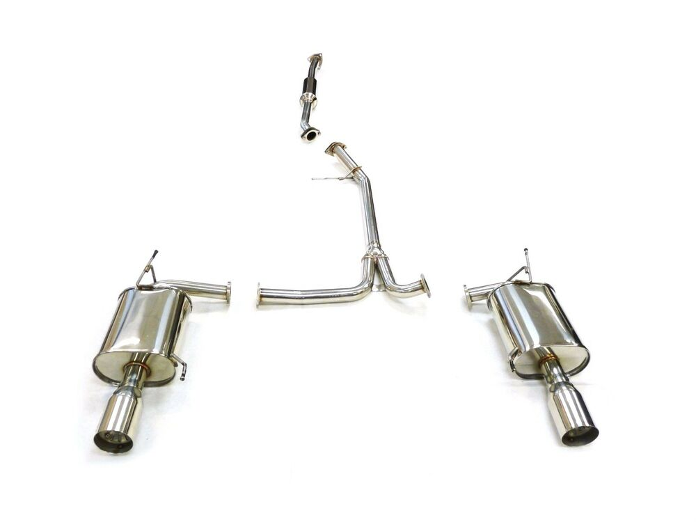 obx exhaust catback system for 2003 to 2007 honda accord 2dr coupe v6 ebay. Black Bedroom Furniture Sets. Home Design Ideas