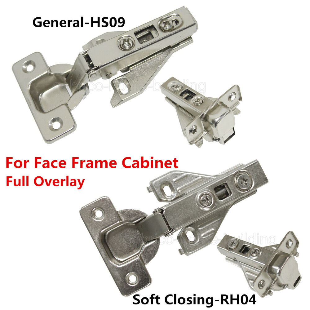Kitchen Cabinet Hinges Soft Close: Hidden Face Frame Kitchen Cabinet Door Hinges Clip-On Soft
