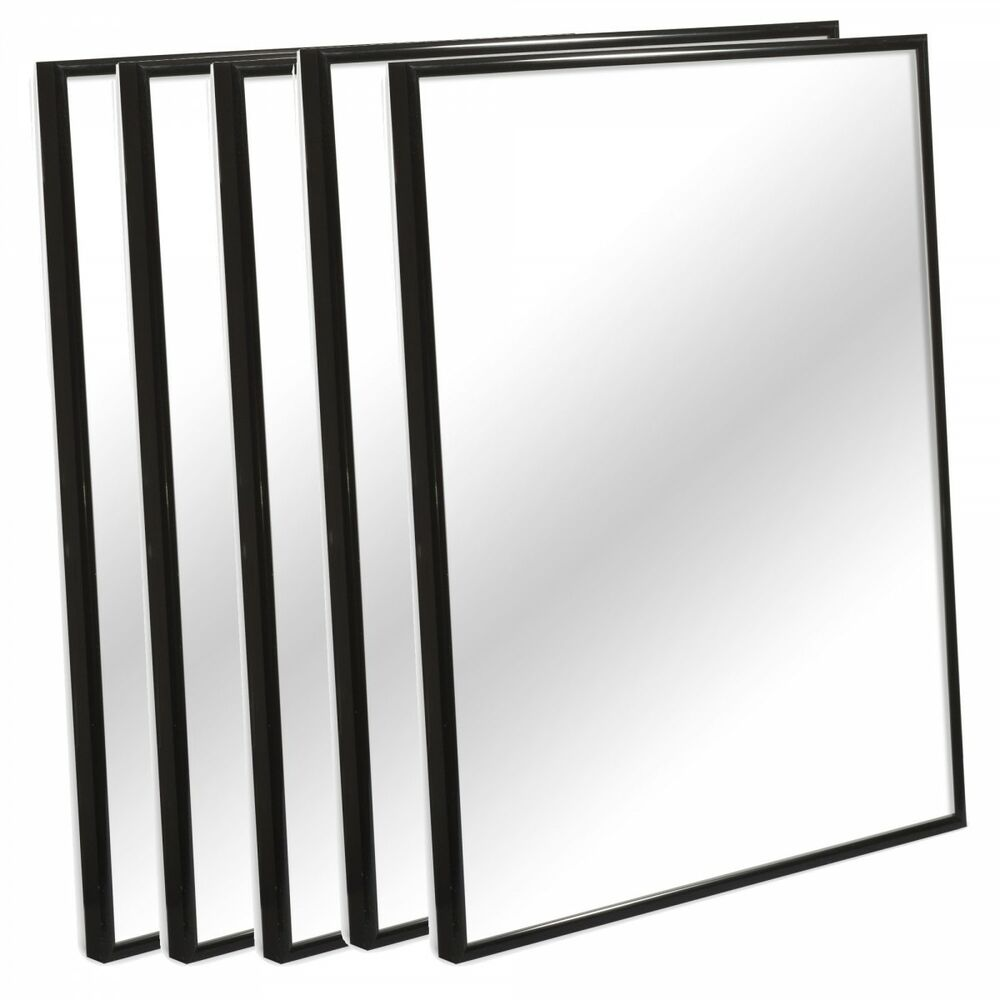 Black Silver Aluminium Picture Photo Frames Large Poster Artwork ...