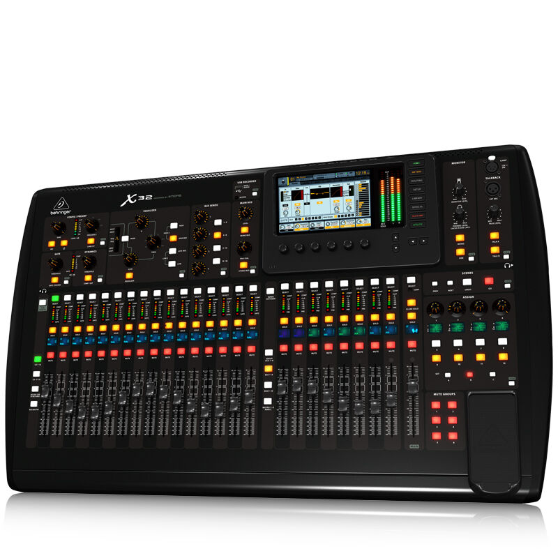 behringer x32 32 channel 25 bus 40 input digital mixing board full warranty ebay. Black Bedroom Furniture Sets. Home Design Ideas