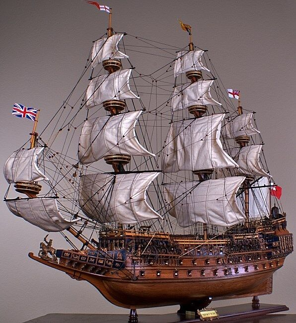 """SOVEREIGN OF THE SEAS 43"""" wood model ship large scale ..."""