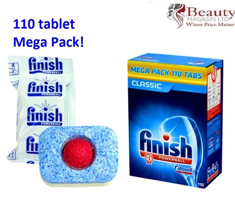 Finish Powerball Classic 110 Pack Dishwasher Tablets