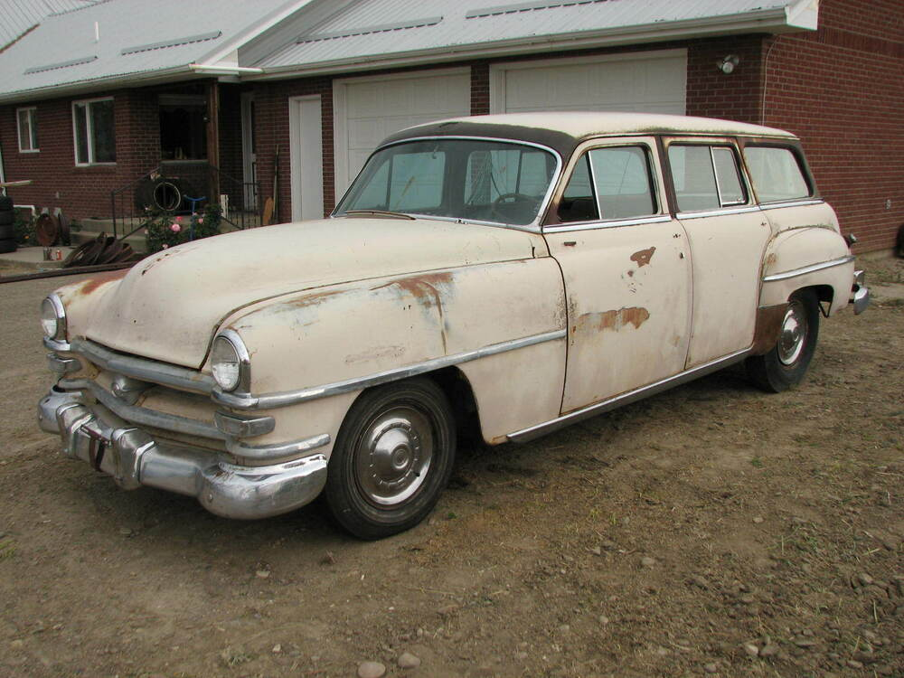1953 Chrysler Windsor Town Amp Country Station Wagon 1949