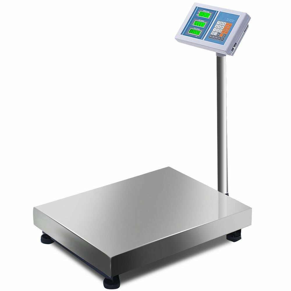 660lbs weight computing digital floor platform scale for Scale floor