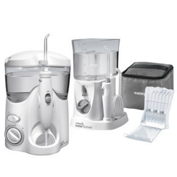 waterpik ultra and nano water flosser combo pack ebay. Black Bedroom Furniture Sets. Home Design Ideas