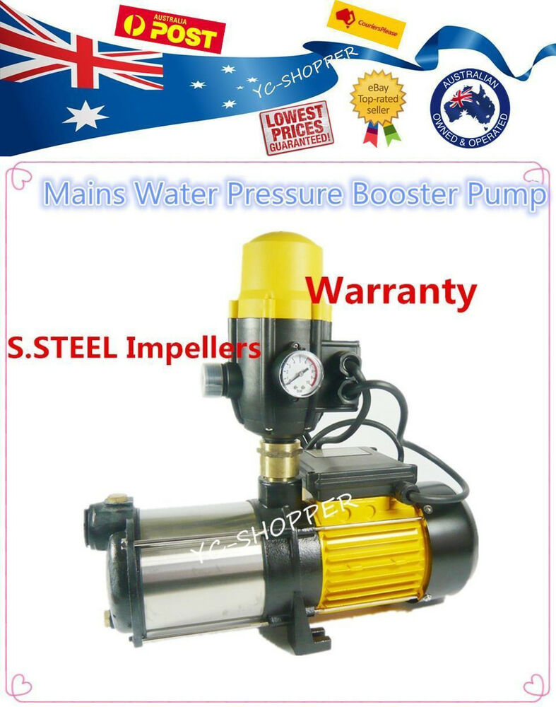 home water pressure domestic household house mains water pressure booster 400