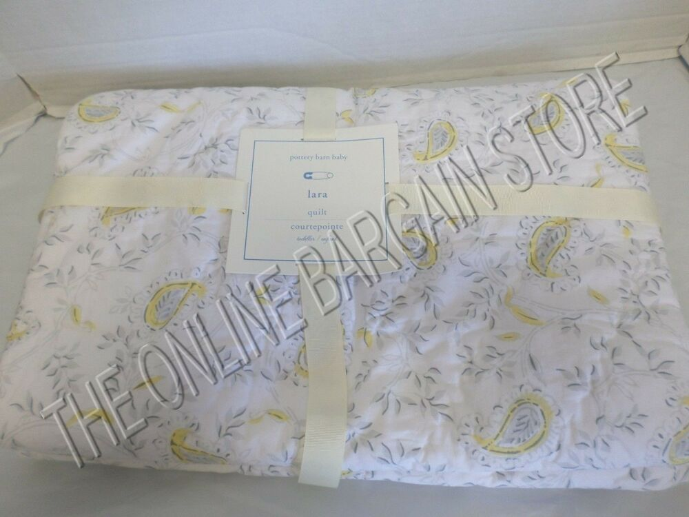 Pottery Barn Kids Pbk Baby Nursery Toddler Bed Quilt