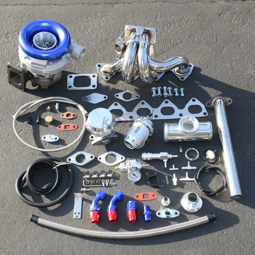 Greddy Turbo Parts: H22 STAGE II TURBO CHARGER UPGRADE KIT 300HP BOOST FOR 92