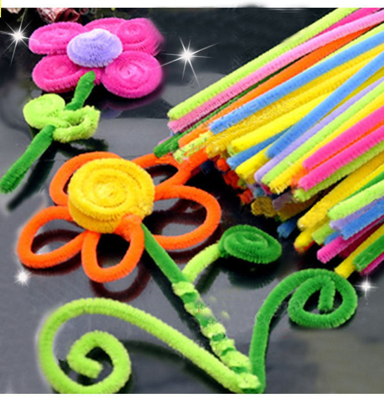 pipe cleaners crafts diy 50pcs colourful pipe cleaner chenille craft stem 2700