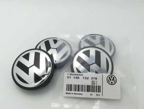 4Pc VW Genuine Wheel center cap hubcap Logo For Golf Jetta Beetle 56mm | eBay