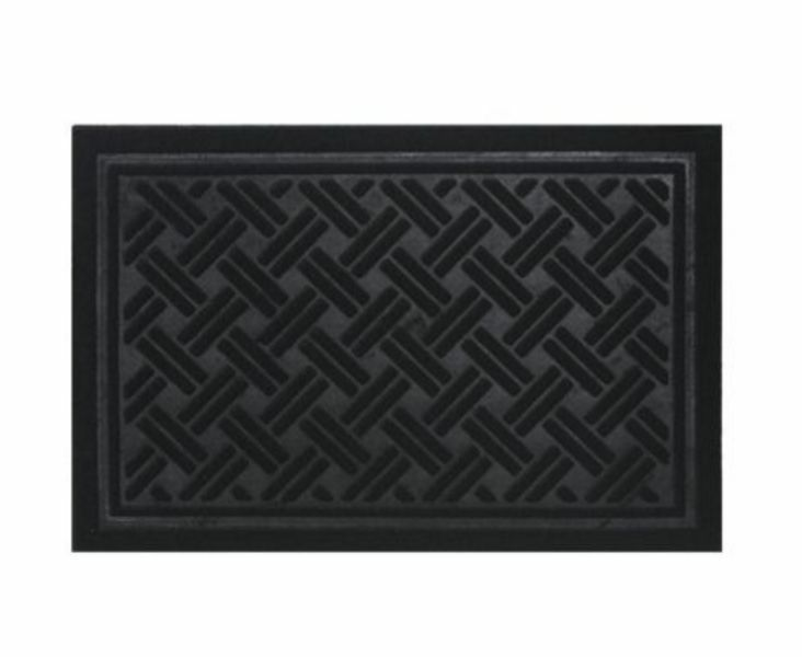 Rubber Backed Rug Engraved Doormat For Front Indoor