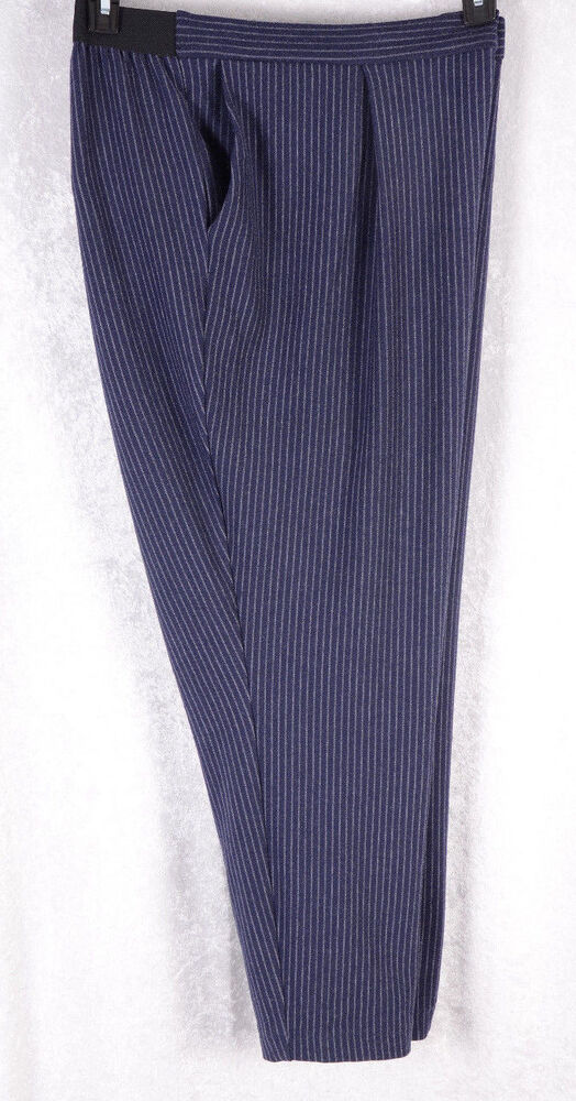 Cool Topshop Womens Clean Scuba Trousers Navy Blue In Blue | Lyst
