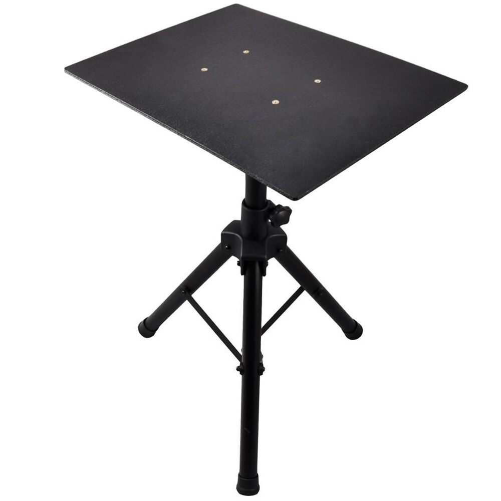 Laptop Projector Tripod Stand Table Height Adjust Dj