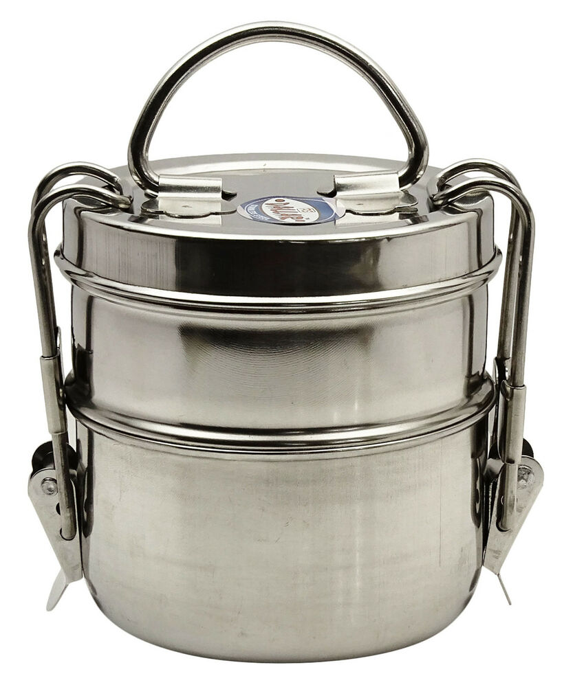 lunch box containers stainless steel lunch box food container 2 tier indian 12429