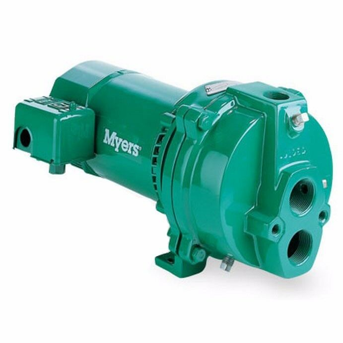 Fe myers hj100d deep well jet pumps 1 hp cast iron for Jet motor pumps price