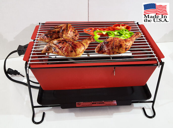 Small Electric Grills Outdoor ~ Electric indoor outdoor grill made in usa ebay