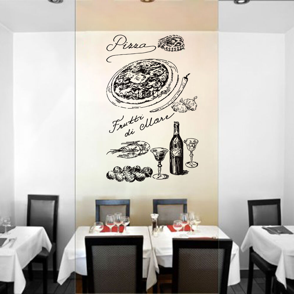 Food Wall Sticker For Kitchen