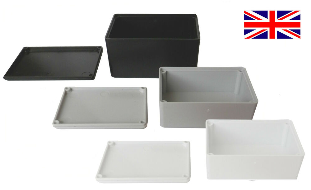 Abs Plastic Small Tiny Enclosure Project Boxes Uk Made
