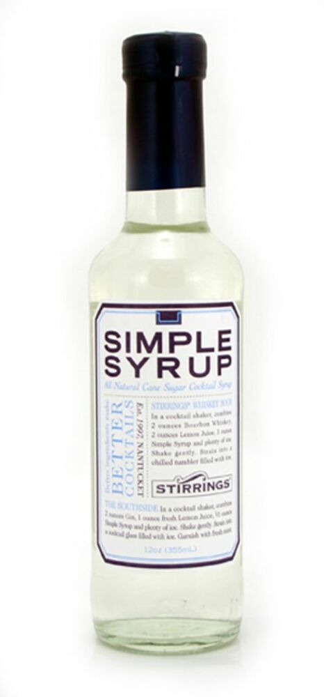 Simple syrup is a solution of sugar in water that used in popular cocktails like the Cranberry Cider, French 75, Mojito and in many other delicious cocktails. Discover your new cocktail with simple syrup.