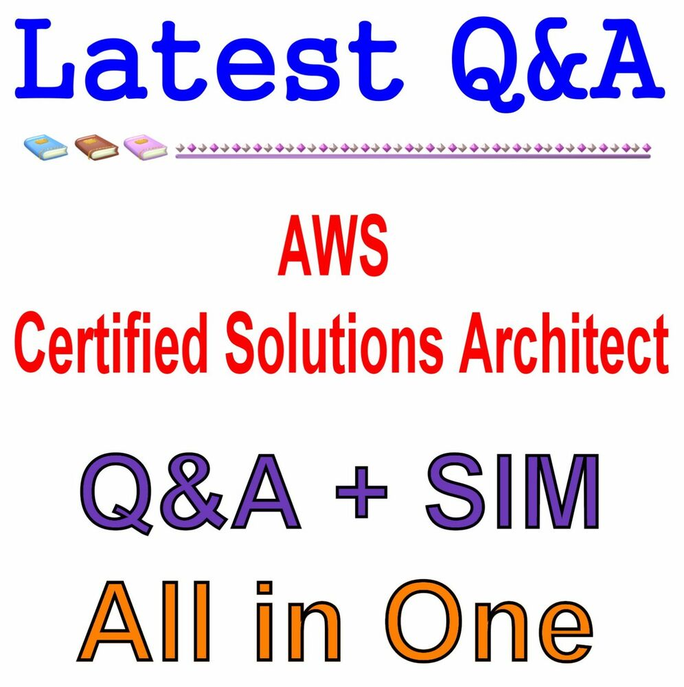 Aws certified solutions architect associate exam qa pdfsim ebay 1betcityfo Image collections