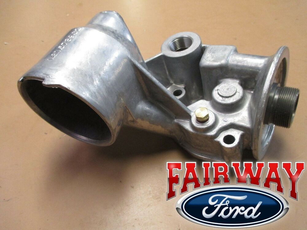 ford 7 3 powerstroke fuel filter housing 99 thru 03 oem ford super duty excursion oil cooler filter ... fuel filter hausing 91 ford 7 3deasel