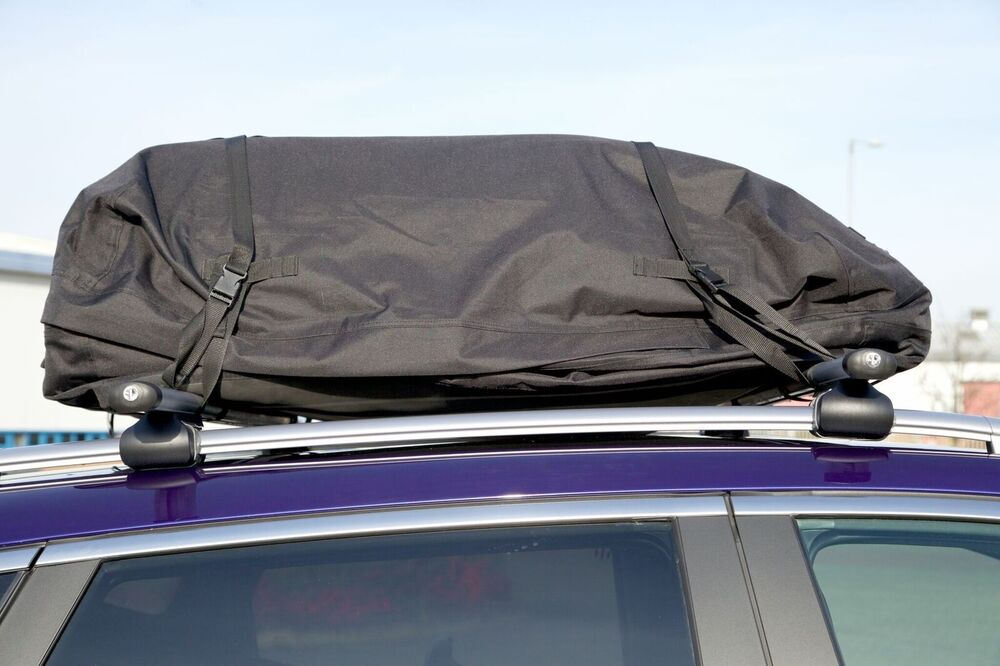Large Fully Waterproof Foldable Car Cargo Roof Bag Storage