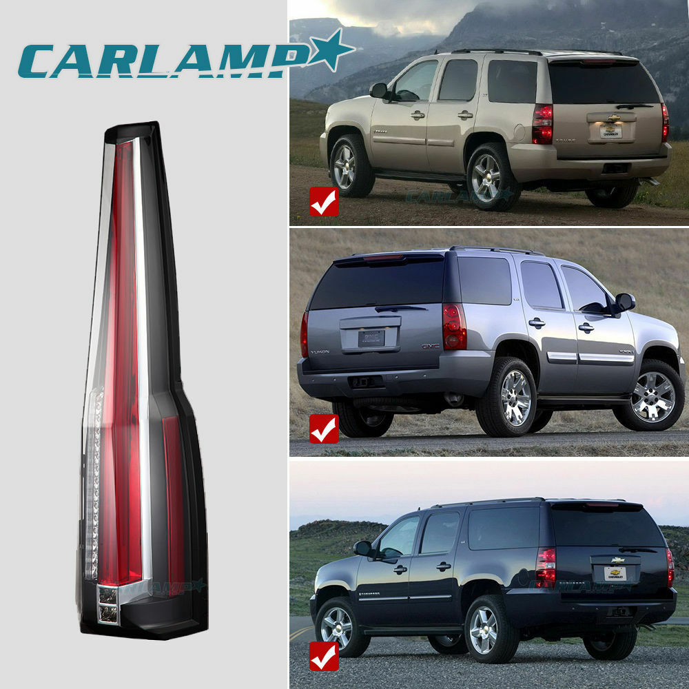 Escalade Tail Lights For 2007 2014 Gmc Yukon Amp Chevy