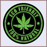 Marijuana Sticker decal vinyl weed cannabis leaf rasta reggae joint hemp vw car