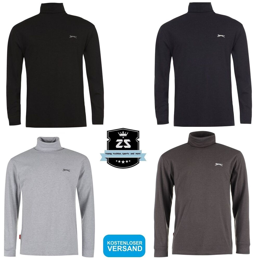 slazenger herren rollkragen longsleeve pullover s m l xl. Black Bedroom Furniture Sets. Home Design Ideas