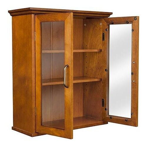 wall storage cabinets with doors bathroom wall cabinet mount toilet storage shelves wood 28109