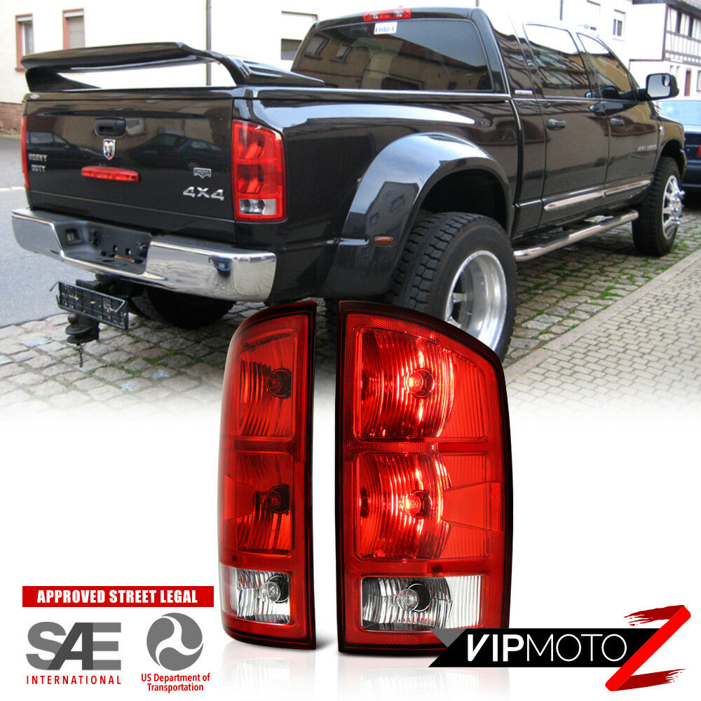 02 06 Dodge Ram 1500 2500 3500 Tail Light Lamp Left Right
