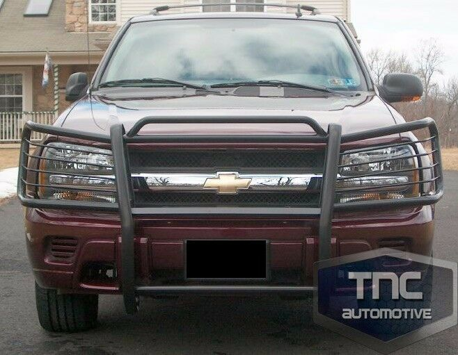 2002-2009 Chevrolet Trailblazer Brush Guard Grill Guard Black Powder Coat | eBay
