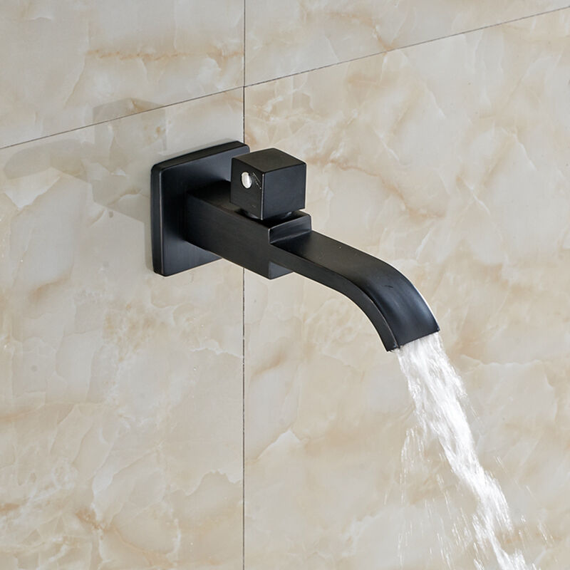 Modern Wall Mounted Oil Rubbed Bronze Waterfall Bathroom