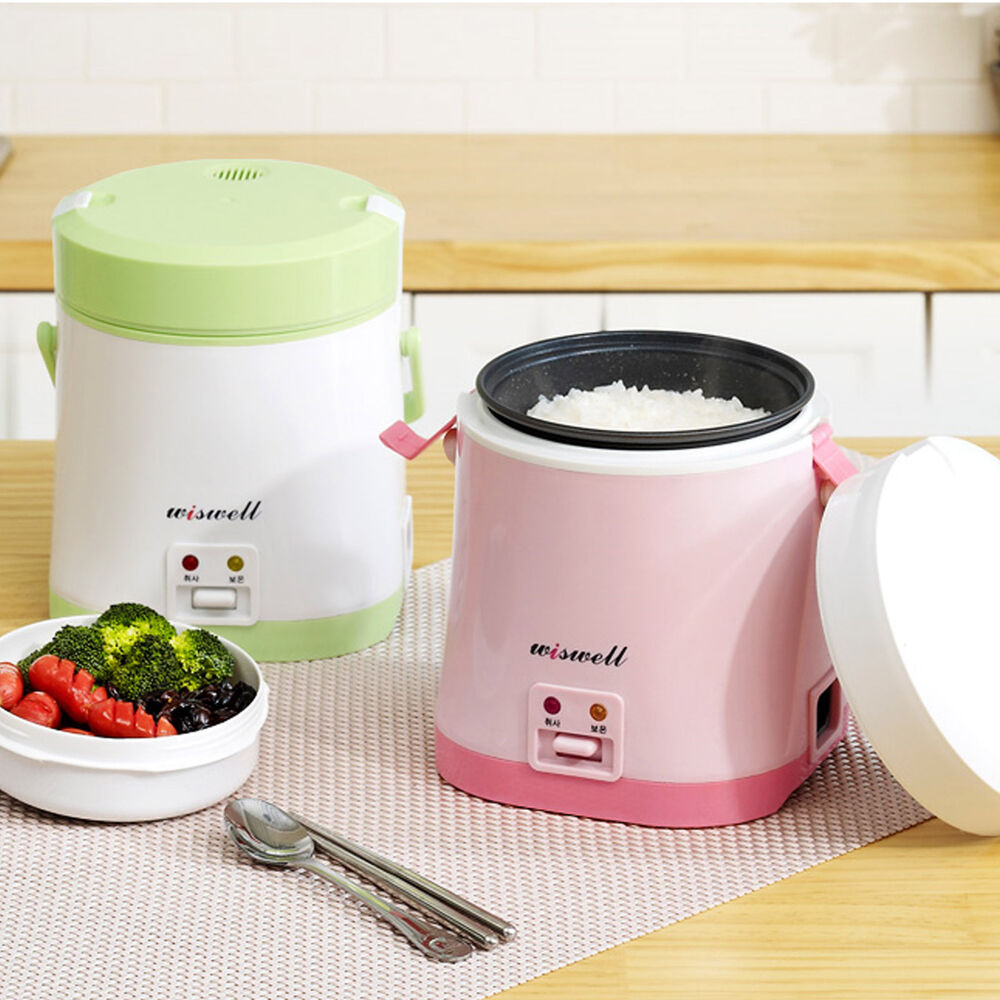 wiswell electric mini rice cooker bento rapid cooking. Black Bedroom Furniture Sets. Home Design Ideas