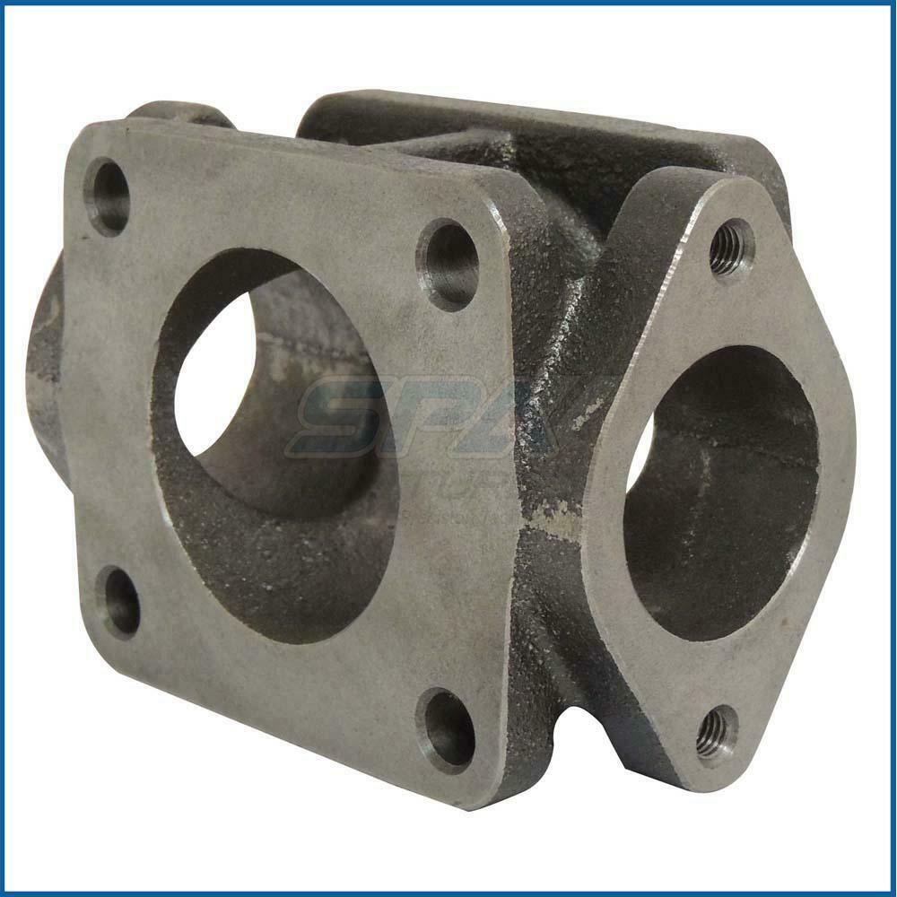 T cast iron flange turbo charger manifold exhaust adapter