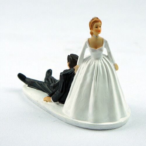 Romantic Humor Marriage Funny Polyresin Figurine Bride ...